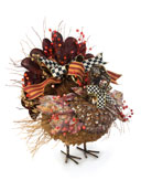 MacKenzie-Childs Large Harvest Turkey