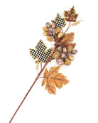 MacKenzie-Childs Maple Leaf and Berry Stem