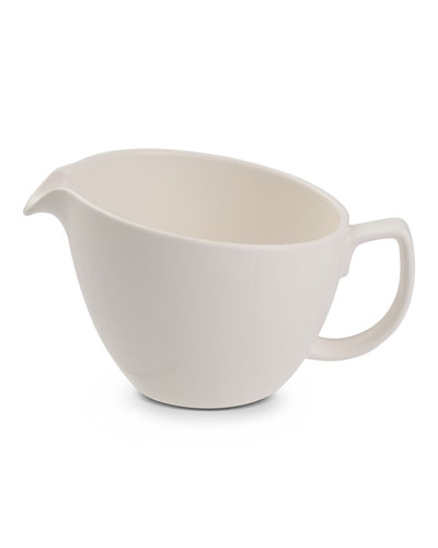Cream Pitcher, Starry White