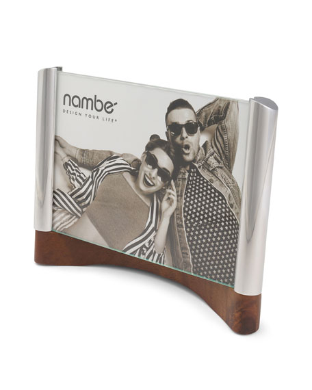 "Nambe Sky View Picture Frame, 5"" x 7"""