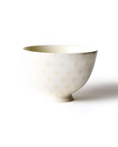 Quatrefoil Footed Bowl
