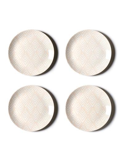 Layered Diamond Dinner Plate