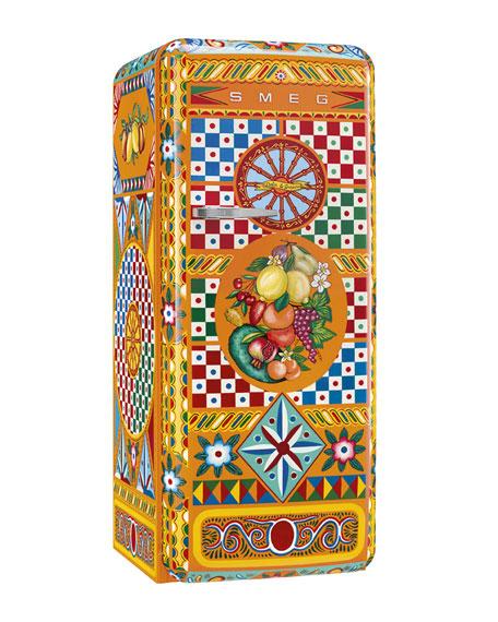 Smeg Dolce Gabbana x SMEG Carretto Refrigerator