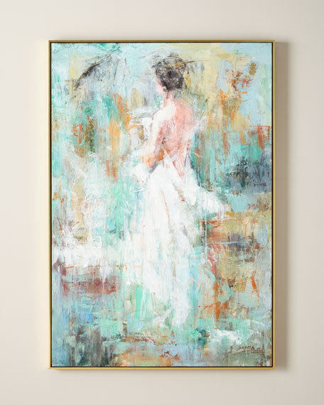 """John-Richard Collection """"Woman In Ivory"""" Giclee Canvas Art by Sasha"""