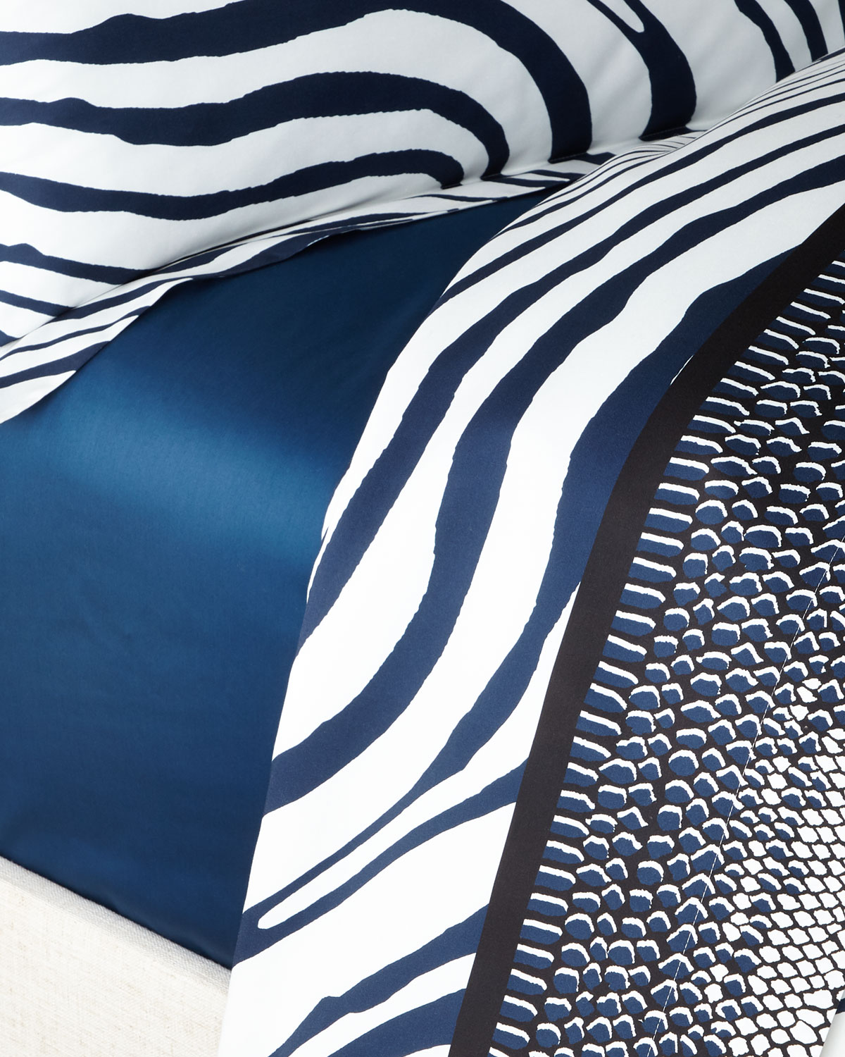 Roberto Cavalli Picture frames FRAME ZEBRAGE KING FITTED SHEET