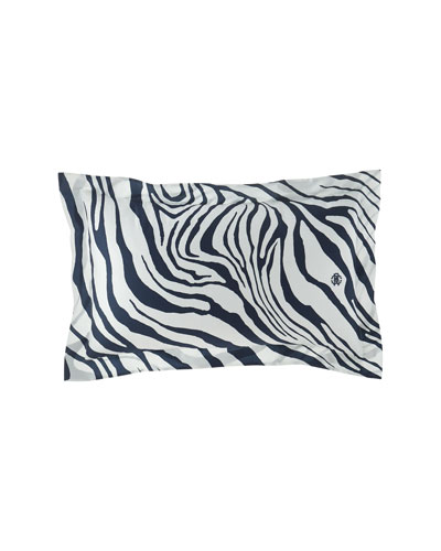 Frame Zebrage Standard Shams, Set of 2