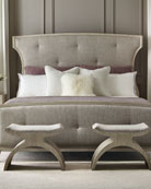 Bernhardt East Hampton Button Tufted California King Bed