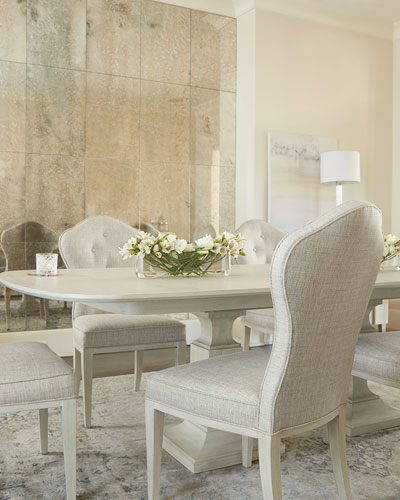 East Hampton Button Tufted Side Chair