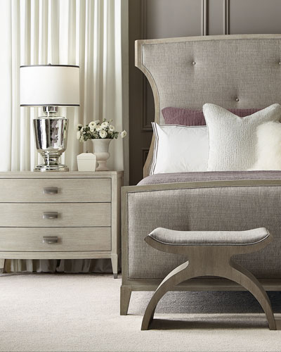 East Hampton Button Tufted King Bed