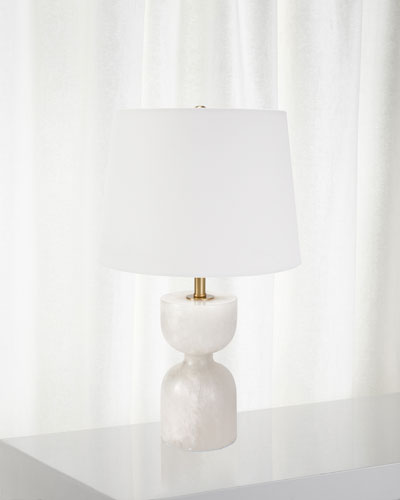 Joan Alabaster Small Table Lamp