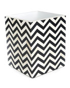 MacKenzie-Childs Piazza Wastebasket