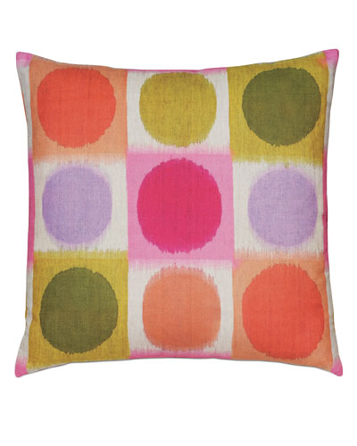 Flossie Rainbow Decorative Pillow