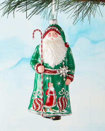 Mayfair Claus Ornament