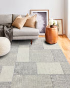 Edgewood Hand-Tufted Rug, 5' x 8' and Matching