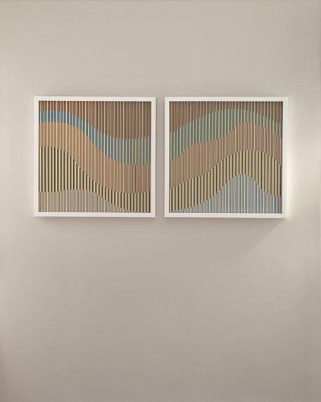 """Optic Flow Set"" Wall Art"