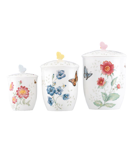 Lenox Butterfly Meadow Canisters, Set of 3