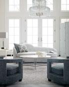 Bernhardt Calista Oval Coffee Table