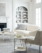Bernhardt Calista Round Coffee Table and Matching Items