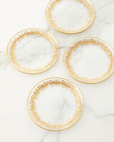Oro Bello Bread Plates, Set of 4