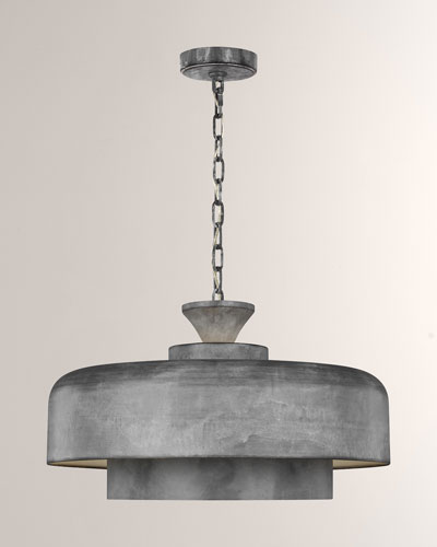 Haymarket Galvanized 1-Light Pendant