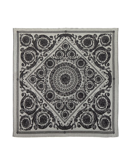 Versace Cashmere-Wool Throw Blanket