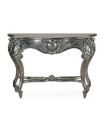 Handcrafted Console Table Neiman Marcus