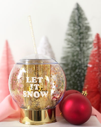 Shake It Up Snow Globe Party Cup