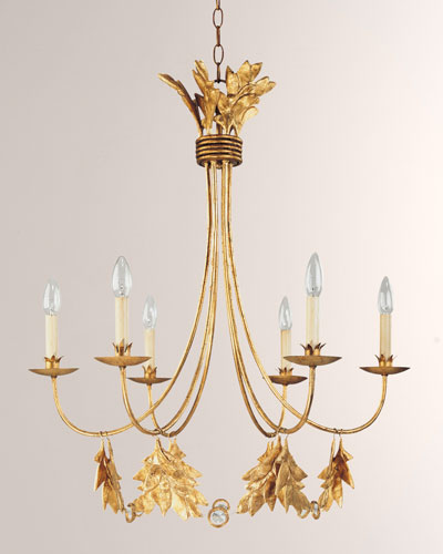 Gold Leaf Lighting Neiman Marcus