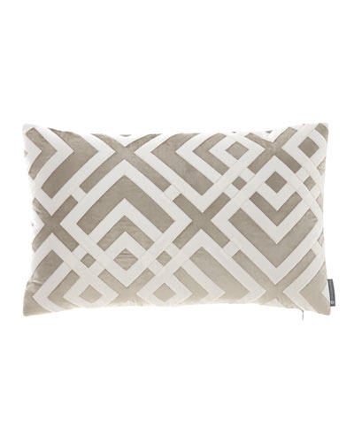 Carlo Fawn Velvet Pillow, 14