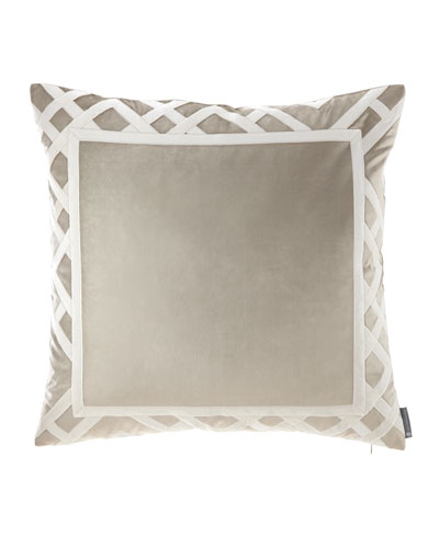 Carlo Fawn Velvet Pillow, 24