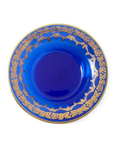 Blue Oro Bello Soup Bowls, Set of 4