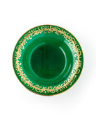 Exclusive Hand Painted Holiday Soup Plates, Set of