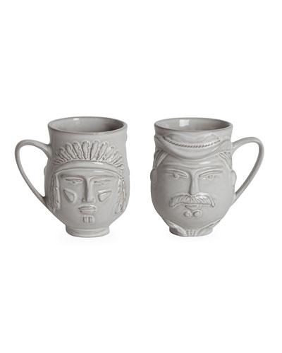Utopia Macho Macho Cowboy/Indian Mug