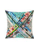 Christian Lacroix Talisman Multicolored Pillow