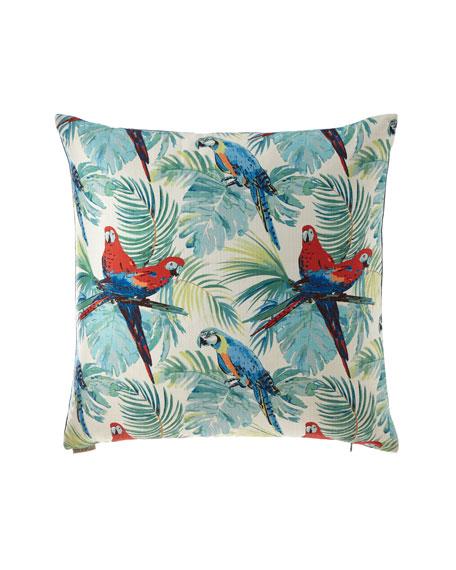 D.V. Kap Home Macaw Pillow