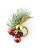 Kim Seybert Christmas Sprig Napkin Ring