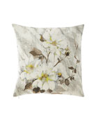 Designers Guild Carrara Fiore Platinum Pillow