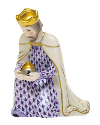 Wise Man Caspar Nativity Figurine