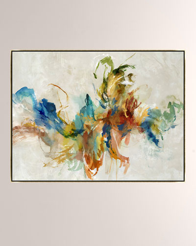 Thinking Of Her Giclee On Canvas Wall Art With Frame