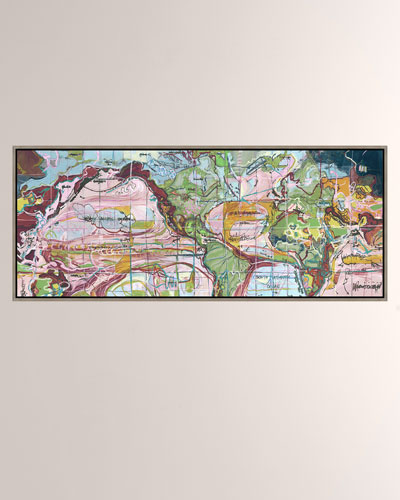 Idealism Giclee On Canvas Wall Art With Frame