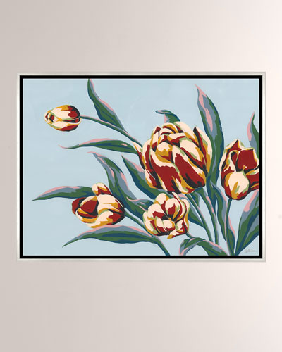 Color Of Summer V Giclee On Canvas Wall Art With Frame