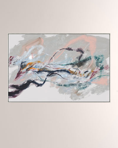Spring Storms Giclee On Canvas Wall Art With Frame