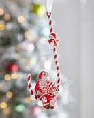 Patricia Breen Candied Claus on Candy Cane Ornament
