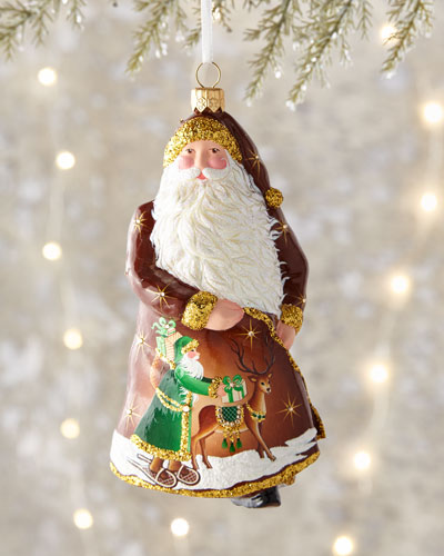 Mistral Claus Ornament
