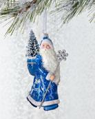 Patricia Breen Arcadia Santa Ornament