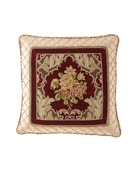 "Austin Horn Collection Alias Framed Pillow, 20""Sq."