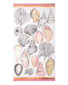 Designers Guild Shell Bay Peony Beach Towel