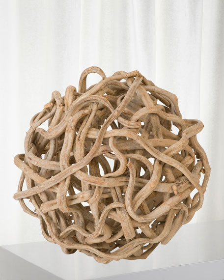 """The Phillips Collection 27"""" Vine Ball Decor"""