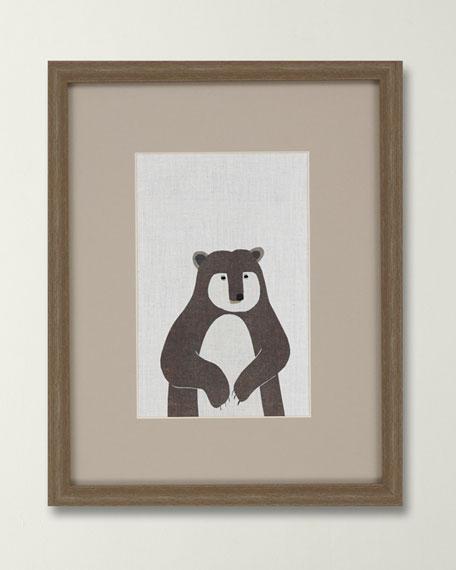 """Brown Bear"" Canvas Art by Bailey"