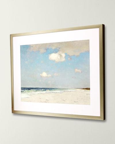 Framed Canvas Decor Neiman Marcus